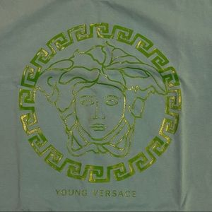 Young Versace MEDUSA HEAD T-shirt